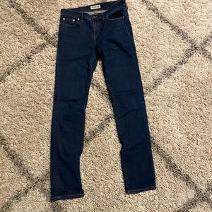Madewell Alley Straight Leg jeans size 28